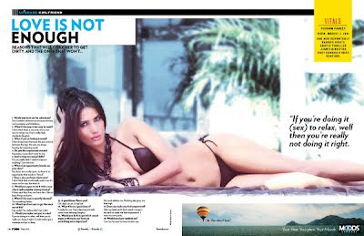 Poonam Pandey in Magazine