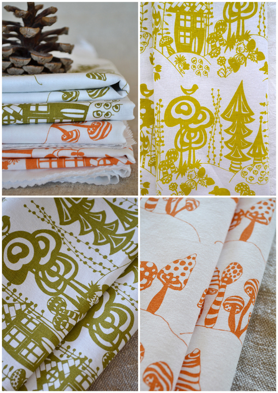 Maria, from BlueBerry Ash, designs and hand prints beautiful textiles from ...