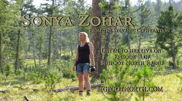 Bigfoot North Radio Guest Sonya Zohar