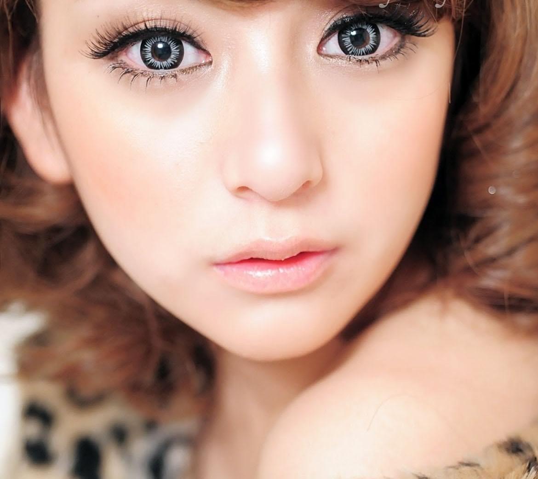 Как сделать большие глаза азиатскими