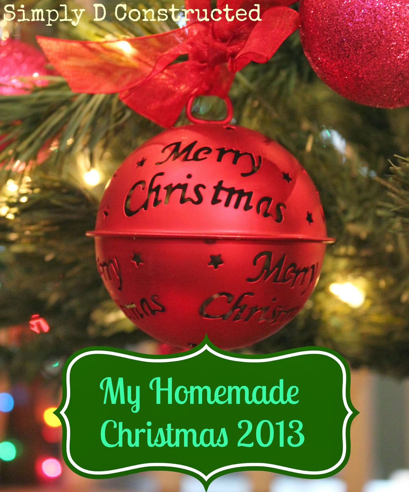 DIY Homemade Christmas Gifts | Simply D Constsructed