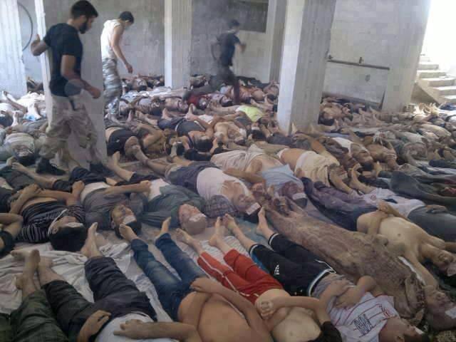 Senjata Kimia Suriah Telan Korban 2200 Orang