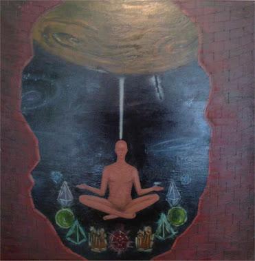 Meditatie - 50x50 cm - 100 lei