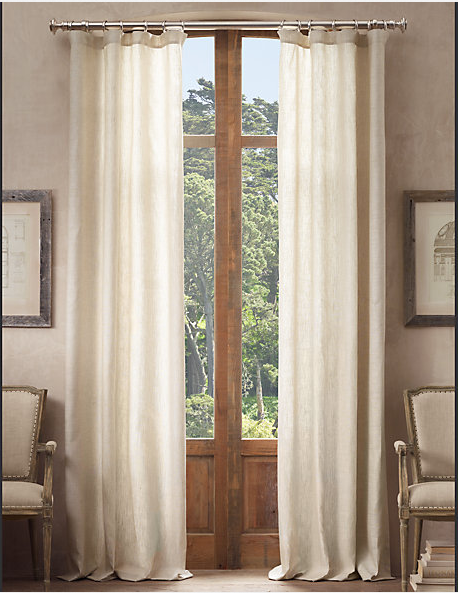 restoration hardware drapes. Restoration Hardware Opaque Belgian Linen Drapery Drapes O