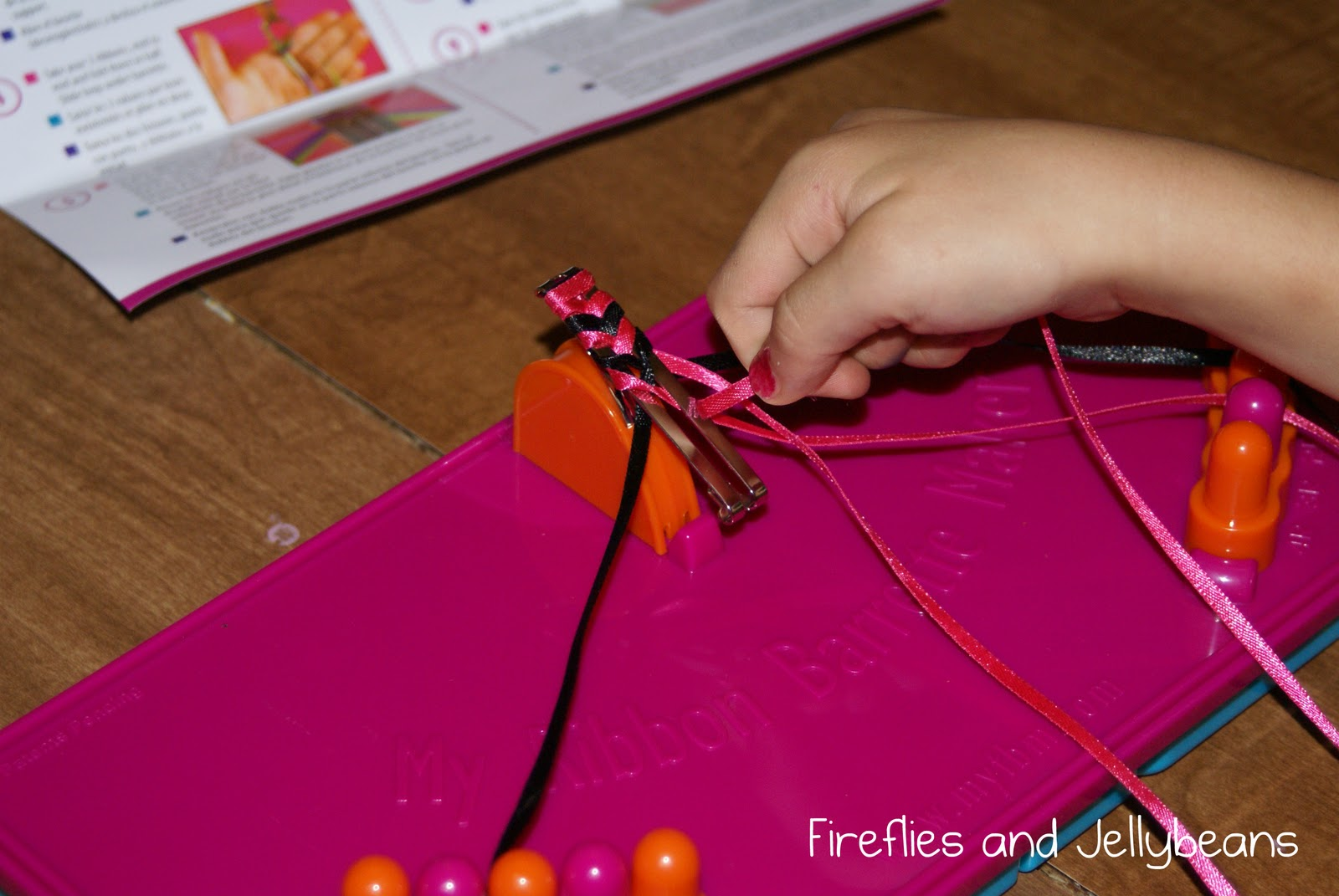 What A Flash Back! Turns Out You Can Make These Yourself (i Never Knew)  And It's Easy For Little Fingers With This Kit My Ribbon Barrette Maker