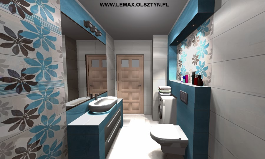 Projektowanie I Wizualizacje łazienek Października 2013