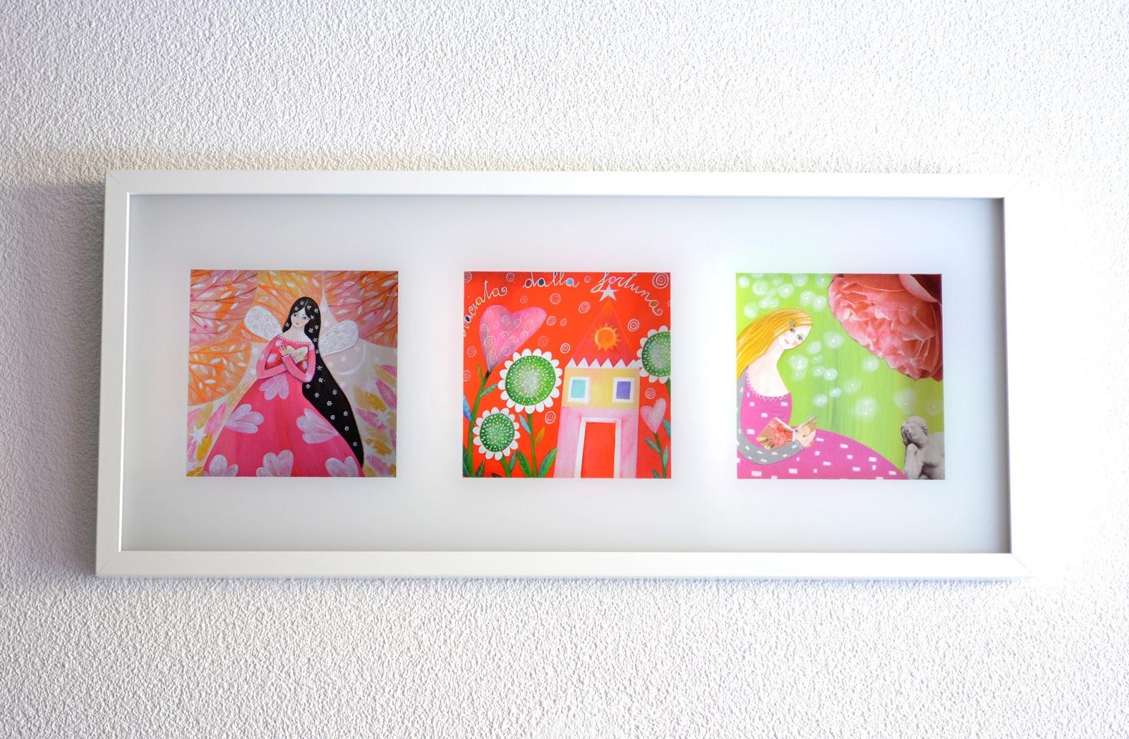 Lo stile di gi i miei regali handmade le stampe di tiziana rinaldi for Ikea quadri stampe