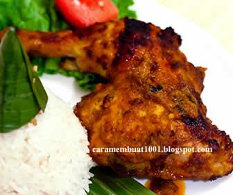 Resep Cara Membuat Ayam Bakar