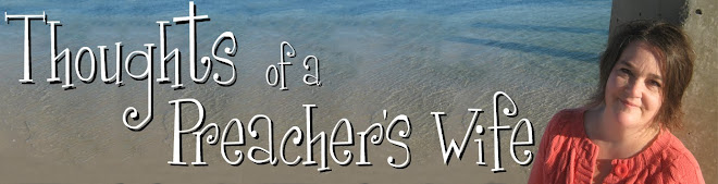 Thoughts of a preacher's wife