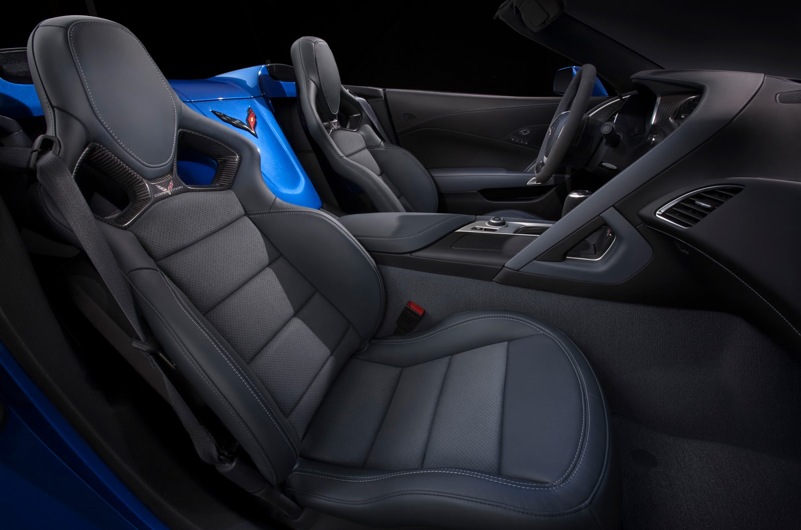 2015 Corvette Z06 Convertible Interior Unprecedented Attention To Detail  And Build Quality Complements The Corvette Z06u0027s Performance.