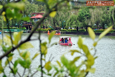 Burnham Park, Flowers, Boating, Baguio City, Benguet