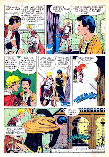Ben-Hur / Four Color Comics #1052 - Russ Manning dell movie comic book page art