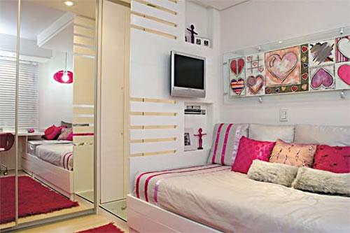 decoracao de interiores quartos femininos:Mais Estilosa: Dicas de decoração para quarto feminino
