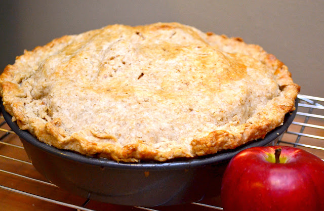 apple pie with whole grain crust michael smith