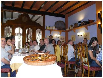 Restaurant 'Casa la Abuela', el lloc de la trobada (Fotografia del Xavier Aliaga)
