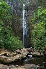 Hanakapiai Falls, Na Pali Coast, Kauai, Hawaii