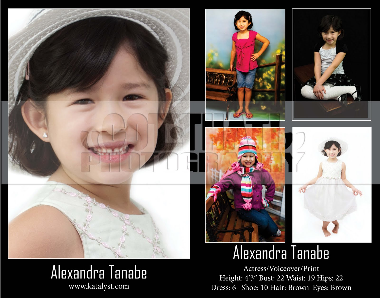 Got That!u0026quot; Photography: Katalyst Modeling Comp Cards