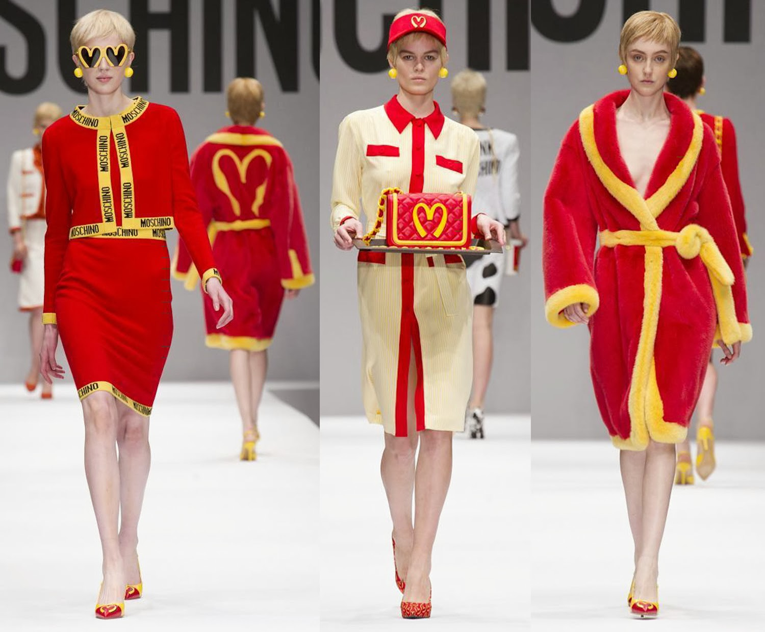 Moschino Autumn Fall Winter 2014 3