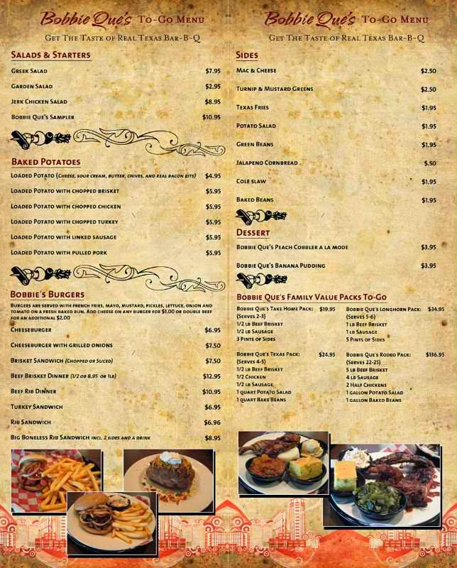 Restaurant Menus photo