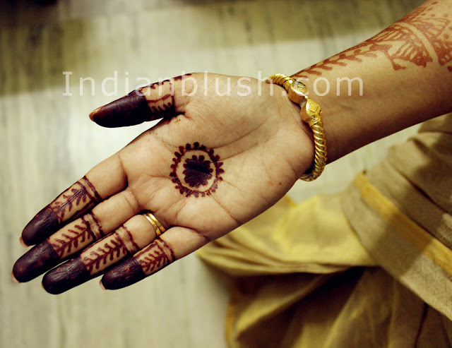 Wedding  or Festive Mahendi Design for Hand