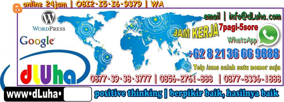 O8I2•I5I6•9379 | DLUHA | positive thinking | logika sehat | Jasa Olah Data Pembuatan Skripsi Malang