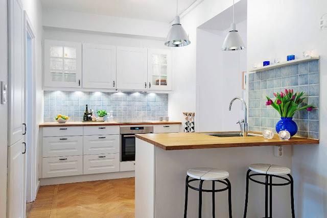 Ideas de revestimientos para las paredes de la cocina - Quitar gotele de la pared ...