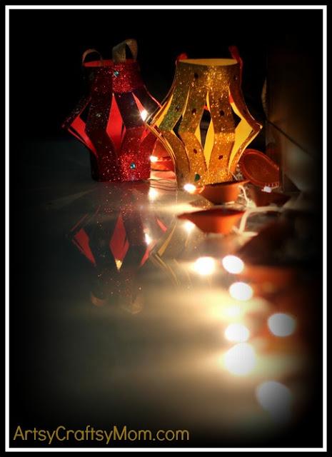 Diwali Craft Lantern