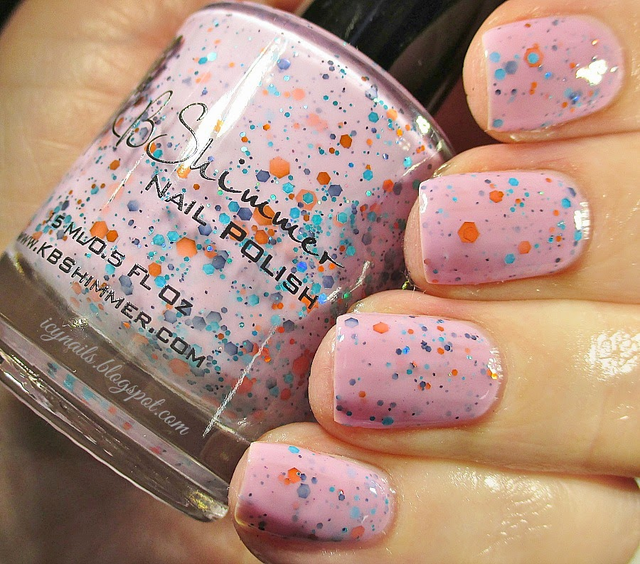 K B Shimmer Winter Collection Polishes: Swatches and Review - Notes ...