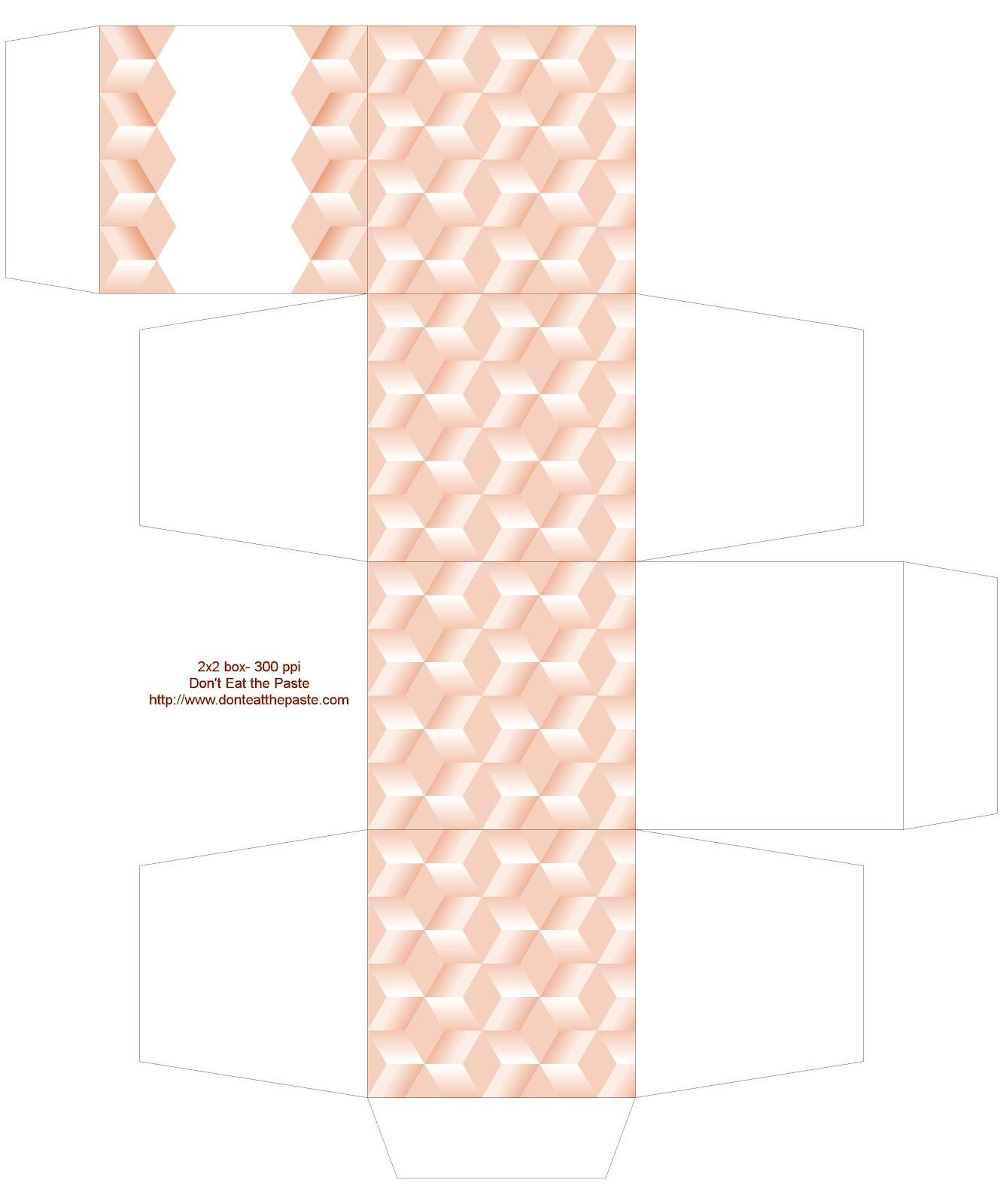 Dont Eat The Paste Tumbling Blocks Boxes