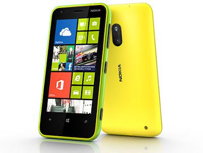 Nokia Lumia 620 Hp Windows Phone 8 dengan Layar 3.8 Inci & Casing yang Bisa diganti-ganti