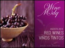 Fichas de todos los vinos que participaron del tasting