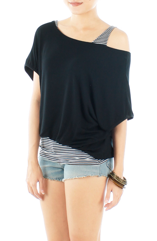 Island Slouchy Two-way Top