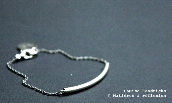 Bracelet Homme plaqué argent Louise Hendricks