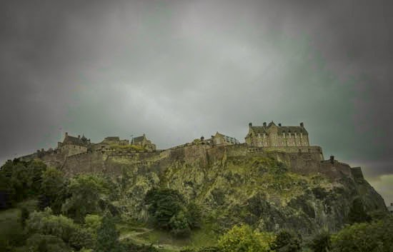 Edinburgh, castle rock, Votadini, Gododdin