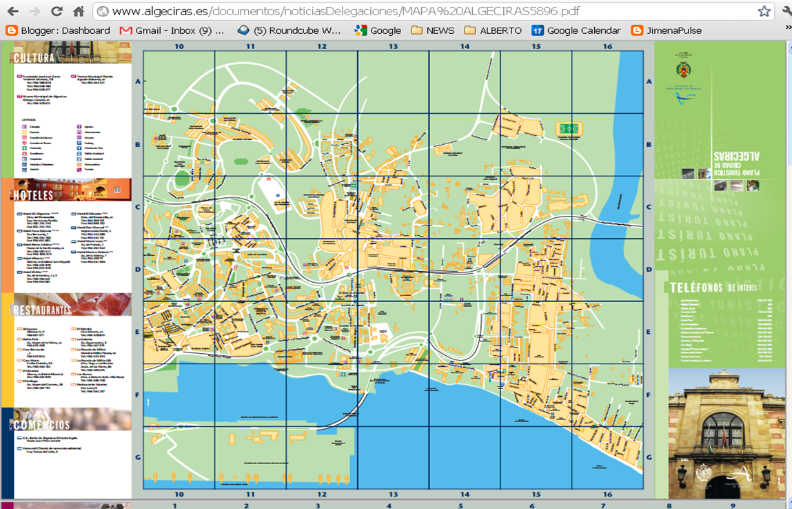 CampoPulse New street map is downloadable