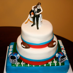 Giants Wedding Cake