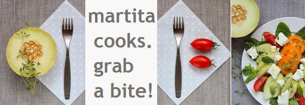 Martita cooks. Grab a bite!