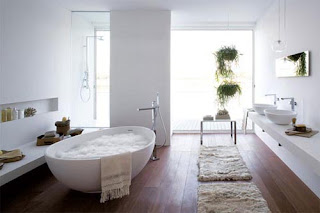 Creating a comfortable bathroom with ergonomic design