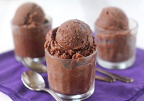 The Galley Gourmet: Chocolate Sorbet