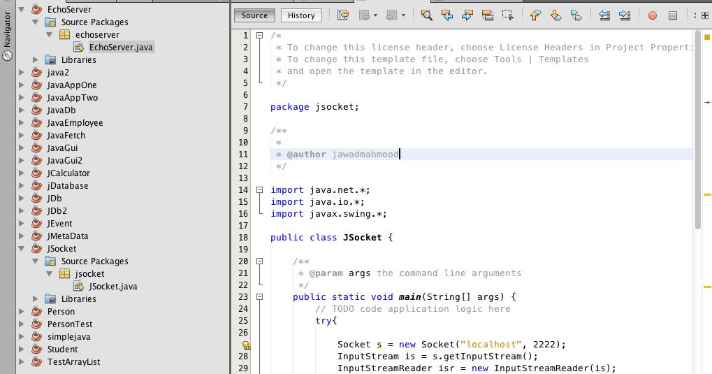 Happiness of life: Socket programing in java