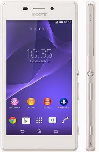 Harga Sony Xperia M2 Aqua dan Spesifikasi Lengkap