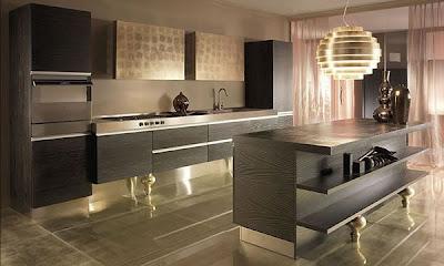 Desain Dapur Cantik Modern Minimalis