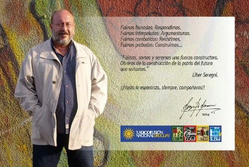 Falleció Sergio Sacomani, Director de Radiodifusión Nacional del Uruguay
