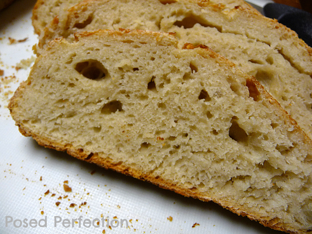 Posed Perfection: No Knead Bread and Resolutions