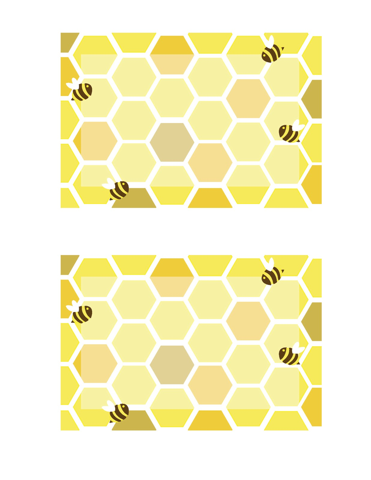 Everyday Art Honeybee Printables