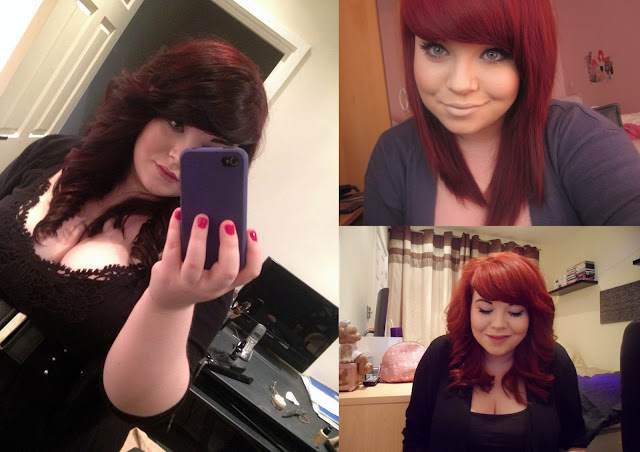 me with red hair