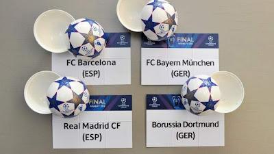Hasil Drawing SemiFinal Liga Champions 2013