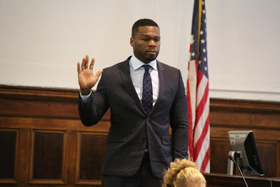 50 Cent Appears in Manhattan Courtroom For Sex Tape Trial