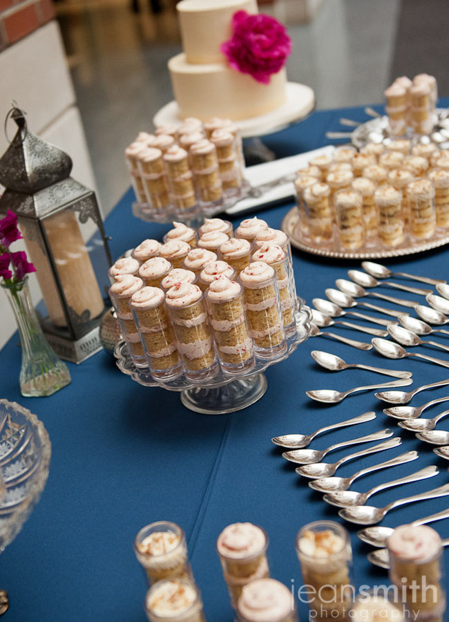 michigan wedding dessert table