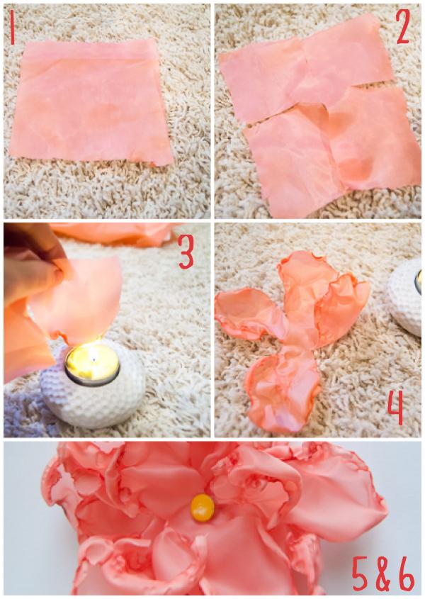 Easy DIY Fabric Peonies